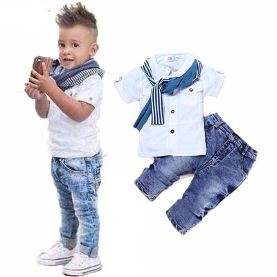 Casual Single Breasted Kids Clothing Sets Kids Now Apparel