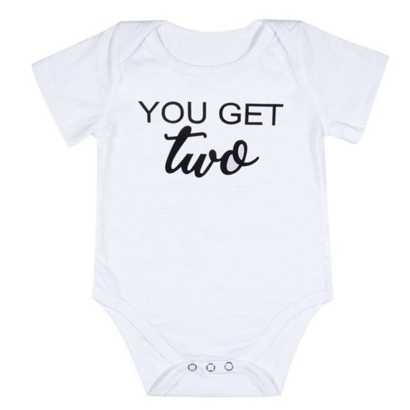 2da8577c8 Personalized Onesies For Twins - Unisex Baby Clothes