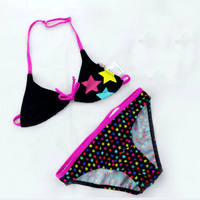 Cute Two Piece Printed Baby Girl Swimsuits Children's Two-Piece Suits Kids Now Apparel