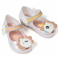 Cute Unicorn Shoes Girls Jelly Shoes Jelly Sandals For Toddlers Sandals Kids Now Apparel