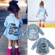 Denim Dress For Toddlers Long Sleeve Shirt Dress Dresses Kids Now Apparel
