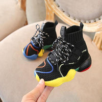 Fashion Girls Hiking Boots Girls High Top Sneakers Kids Running Shoes Girl's Shoes Kids Now Apparel