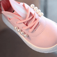 Flat Shoes For Girls Lace Up Sneaker Shoes Kids Now Apparel