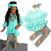 Floral Baby Girl Outfit Toddler Girl Clothing Sets Clothing Sets Kids Now Apparel