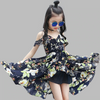 Floral Ruffle Dress For Toddler Girl Ruffle Boho Dress Dresses Kids Now Apparel