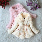 Fur Jacket For Girls Kids Now Apparel