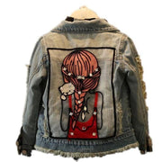 Girls Denim Jean Jacket Girls Coats & Jackets Kids Now Apparel