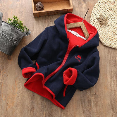 Hoodie Coats Fleece Jackets For Toddler Girls Jackets & Coats Kids Now Apparel