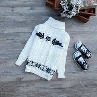 Knitted Turtleneck Sweater Toddler Pullover Sweaters Kids Now Apparel