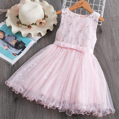 Lace Dress For Girls Floral Party Dress Dresses Kids Now Apparel