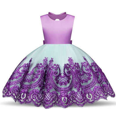 Lace Flower Girl Dresses Embroidery Girl Dress Dresses Kids Now Apparel