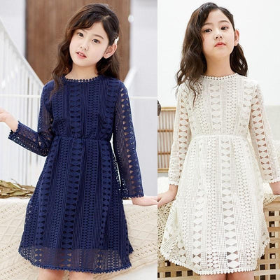 Lace Toddler Dress Long Sleeve Girl Dresses Dresses Kids Now Apparel