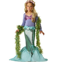 Mermaid Costume For Little Girl Cosplay For Kids Costumes Kids Now Apparel