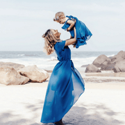 Mom And Baby Matching Outfits Chiffon Beach Dress Matching Family Outfits Kids Now Apparel