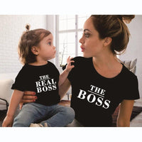 Mom And Daughter Matching Shirts Funny Letter Print Matching Family Outfits Kids Now Apparel
