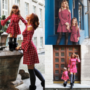 Mother And Daughter Dress Matching Plaid Family Outfits Matching Family Outfits Kids Now Apparel