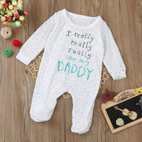 Newborn Long Sleeve Onesies Kids Now Apparel
