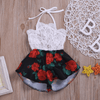 Off Shoulder Rompers Summer Romper For Baby Girl Rompers Kids Now Apparel