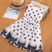 Polka Dot Dress Sleeveless Toddler Dress Dresses Kids Now Apparel