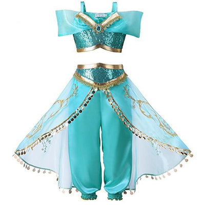 Princess Jasmine Costumes Toddler Clothing Sets Kids Now Apparel