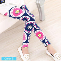 Printed Pants Toddler Girl Floral Leggings Pants Kids Now Apparel