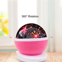 Projection Lamp Children's Room Lighting LED Night Lights Kids Now Apparel