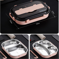 Stainless Steel Lunch Box Leak Proof Food Containers Lunch Boxes Kids Now Apparel