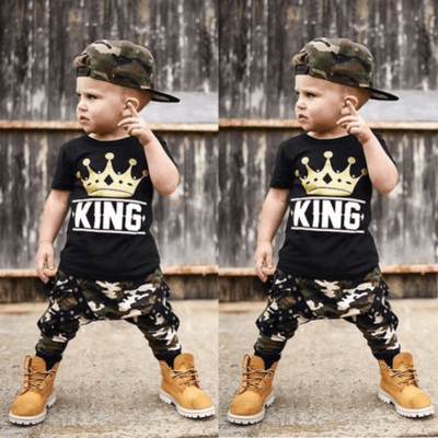Summer Clothing For Baby Boy Casual Outfit For Toddler Boy Clothing Sets Kids Now Apparel