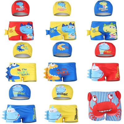 Swimwear For Toddler Boy Swimming Trunk And Hat Swimwear Kids Now Apparel