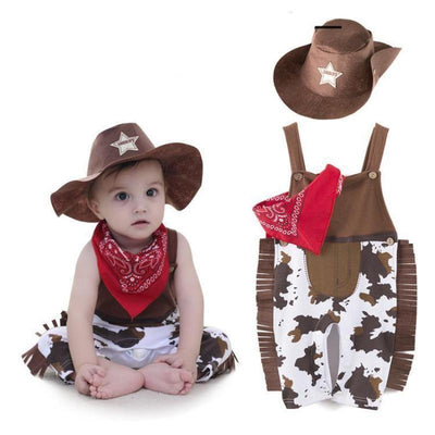 Toddler Cowboy Costume Clothing Set Kids Now Apparel