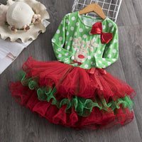 Toddler Girl Christmas Dress Santa Claus Tutu Dress Dresses Kids Now Apparel