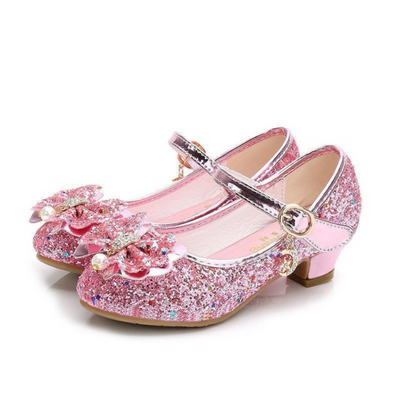 Toddler Girl High Heel Shoes Glitter Party Shoes Shoes Kids Now Apparel