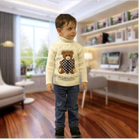 Toddler Knitting Sweater Unisex Kids Sweater / Cardigan Kids Now Apparel