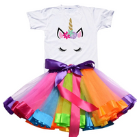 Unicorn Tutu Dress Toddler Girl Birthday Outfit Dresses Kids Now Apparel