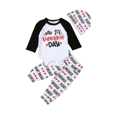 Valentines Day Outfit For Baby Bewborn Clothing Set Clothing Sets Kids Now Apparel