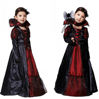 Vampire Costumes For Toddlers Halloween Outfit Black Dress Home Kids Now Apparel