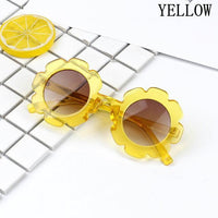 Vintage Round Flower UV400 Toddler Sunglasses Girl Sunglasses Kids Now Apparel