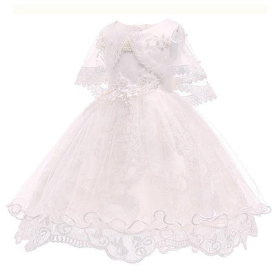 White Dress For Girls Princess Dress For Girl Toddler Dress 3T to 10yo Dresses Kids Now Apparel