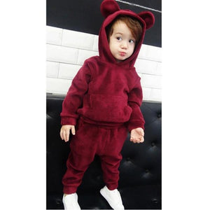 Winter Girls Hoodies + Pants Clothing Set Clothing Sets Kids Now Apparel