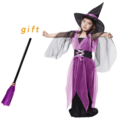 Witch Costumes For Kids Halloween Fancy Dress Girls Costumes Kids Now Apparel
