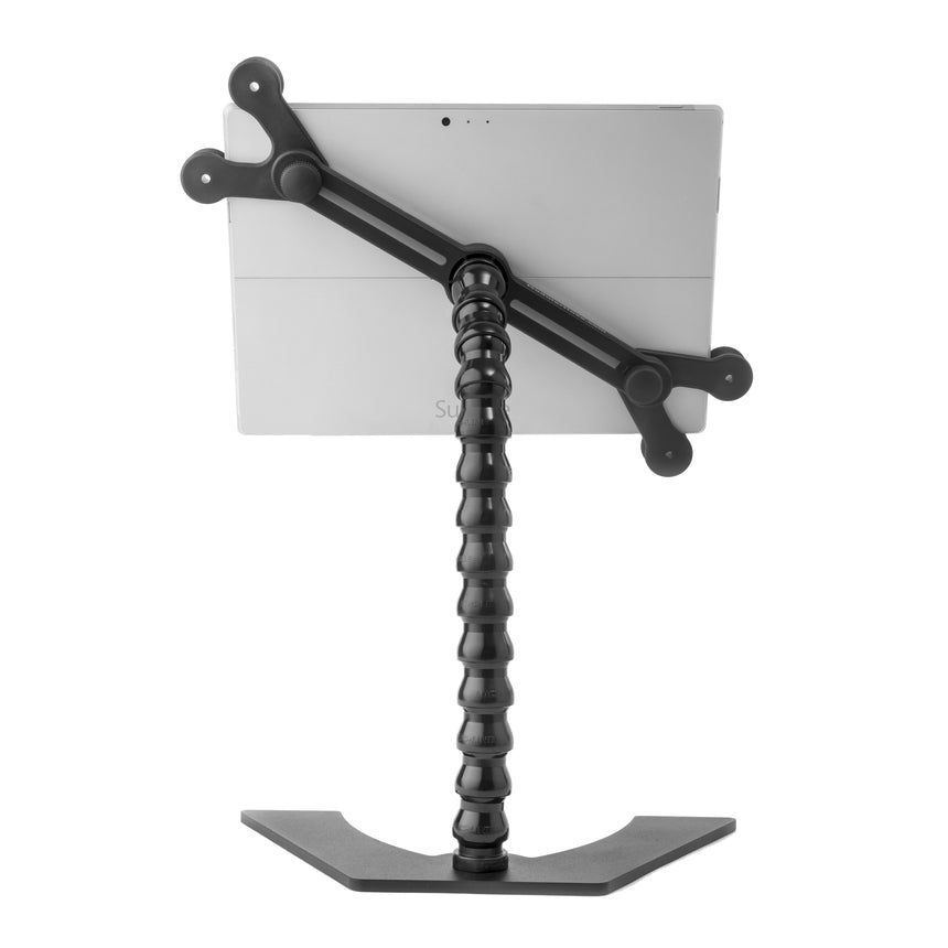 ModularHose Desktop Tablet Holder - 14 inch - back view