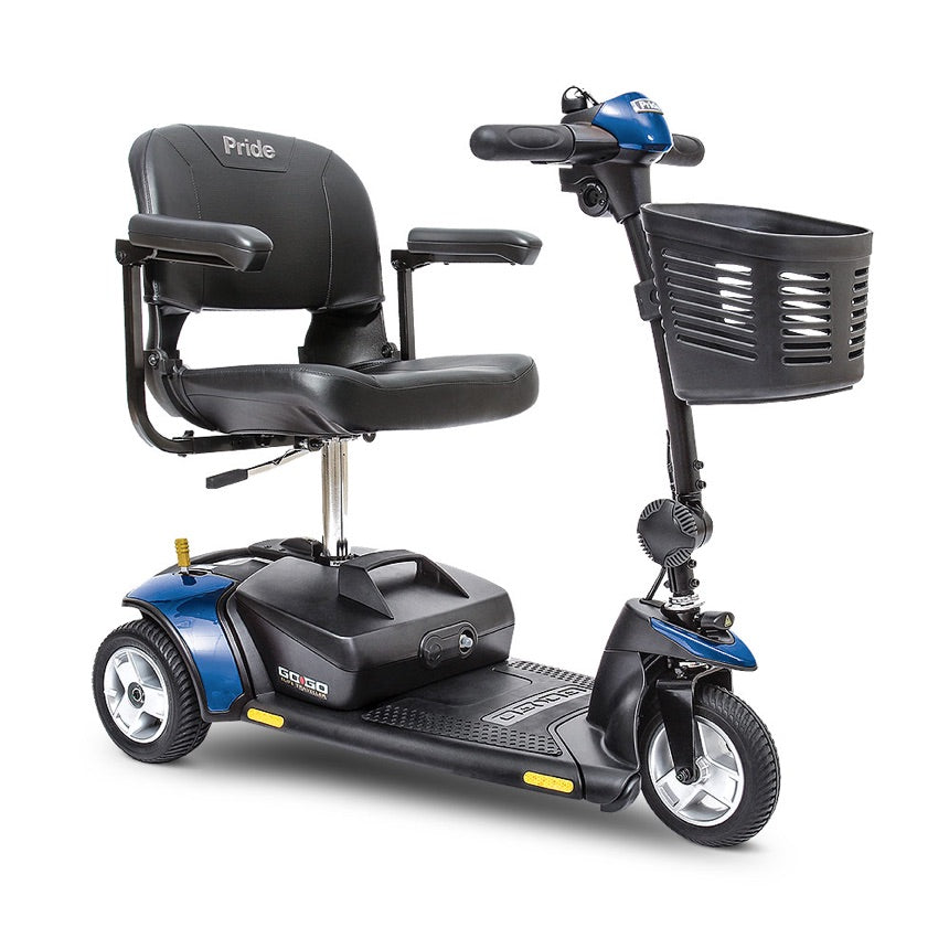 Pride® Go-Go Elite Traveller® 3-Wheel - Blue