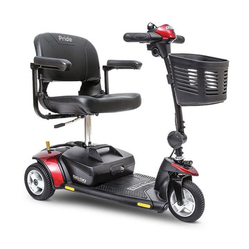 Pride® Go-Go Elite Traveller® 3-Wheel - Red