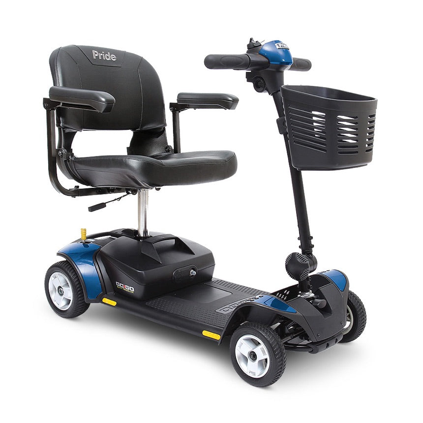 Pride® Go-Go Elite Traveller® 4-Wheel - Blue