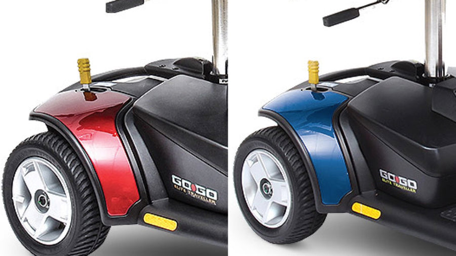 Pride® Go-Go Elite Traveller® 4-Wheel - Interchangeable Shrouds