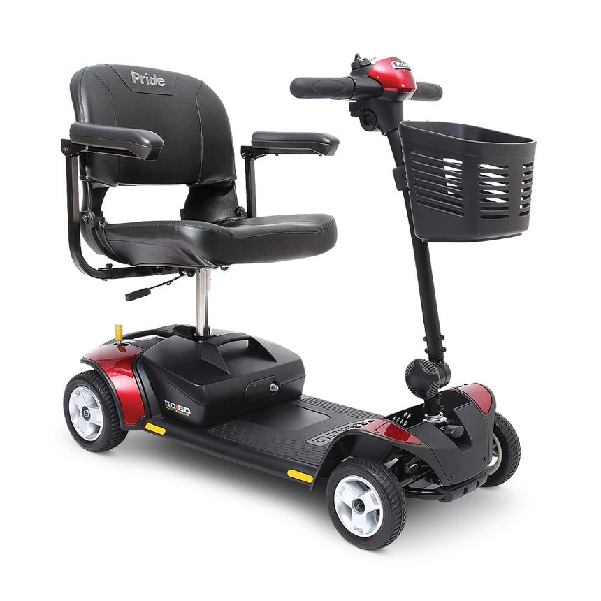 Pride® Go-Go Elite Traveller® 4-Wheel - Red