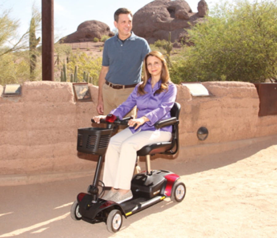 Pride® Go-Go Elite Traveller® 4-Wheel - In Use