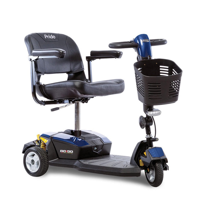 Pride® Go-Go® LX with CTS Suspension 3-Wheel - Blue
