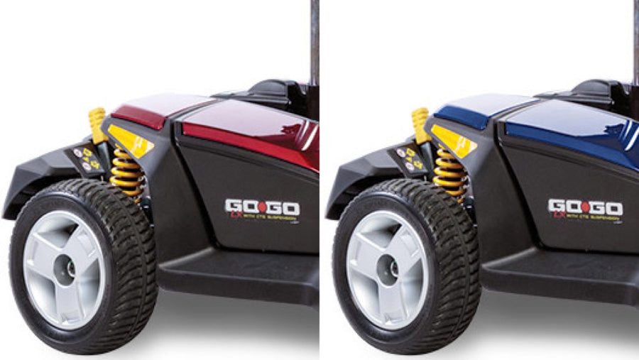 Pride® Go-Go® LX with CTS Suspension 3-Wheel - Interchangeable Shroud