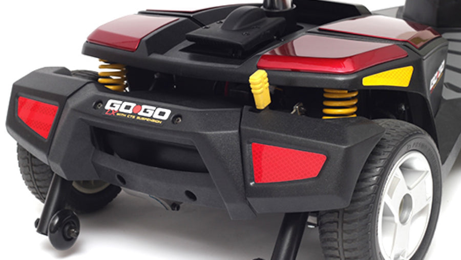 Pride® Go-Go® LX with CTS Suspension 3-Wheel - Ride Quality